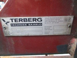 Terberg, Haakarm container, Container systeem, New